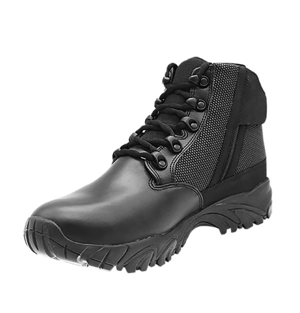 ALTAI 6″ Black Waterproof Tactical Boots - Made in the USA - Model MFT100-ZS - 2
