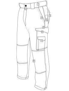 tru spec xfire cargo pants uniform tactical supply  features