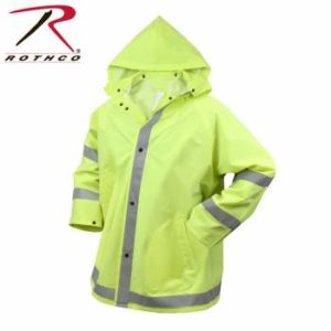 Rothco Safety Reflective Rain Jacket - 3654-A