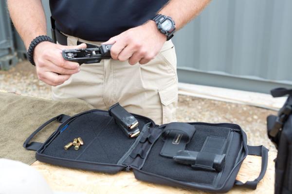 PROPPER 8x10 Pistol Case - F5617 - In Use 01