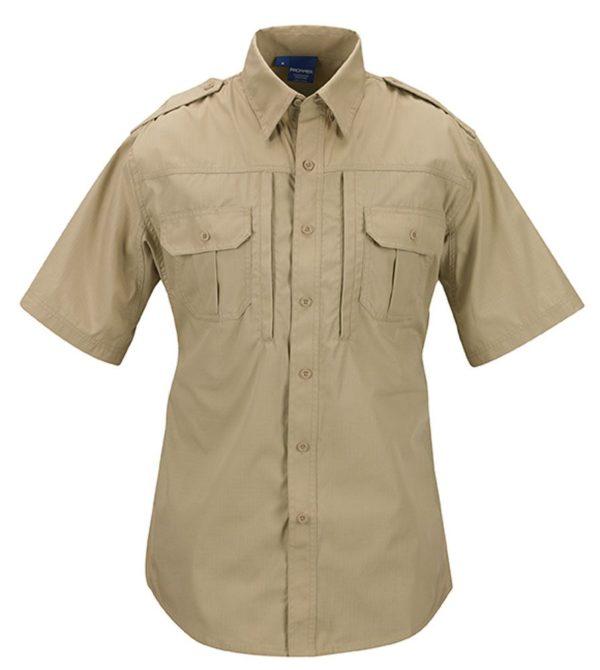 PROPPER Tactical Shirt-short-sleeve-mens-f531150250-khaki