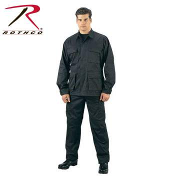 ROTHCO Rip-Stop BDU Pant - 5923-A - Black