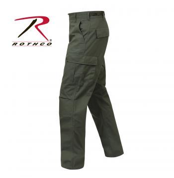 ROTHCO Rip-Stop BDU Pant - 5935-C1 - Olive Drab
