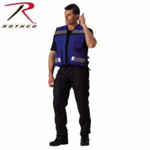 Rothco EMS Rescue Vest - 9521-hr1 - Blue