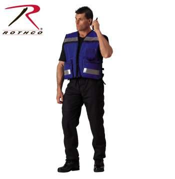 Rothco EMS Rescue Vest - 9521-hr1 - Blue