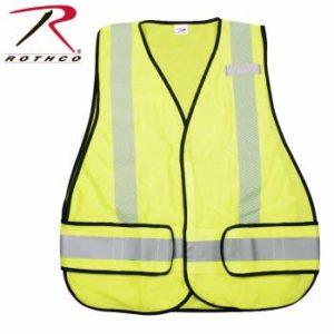 Rothco High Visibility Safety Vest - 9529-hr1