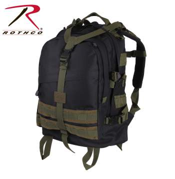 Rothco Large Transport Pack - Black-Olive Drab - 7243-B