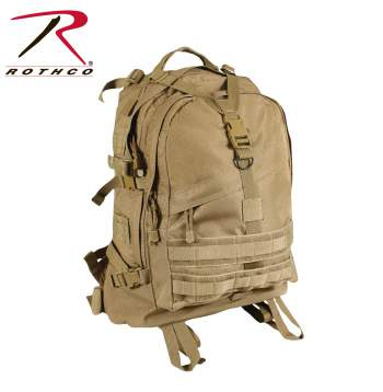 Rothco Large Transport Pack - Coyote Brown - 7289-hr2