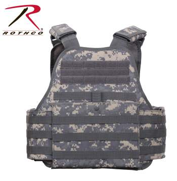Rothco MOLLE Plate Carrier Vest - 8932-A - Digital Camo
