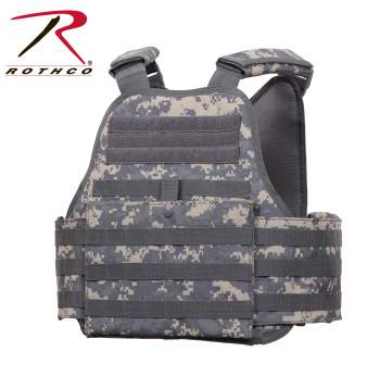 Rothco MOLLE Plate Carrier Vest - 8932-B1 - Digital Camo