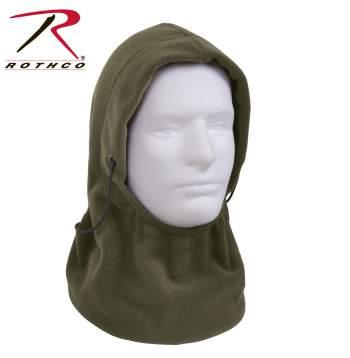 Rothco Polar Fleece Adjustable Balaclava - 5585 - Olive Drab