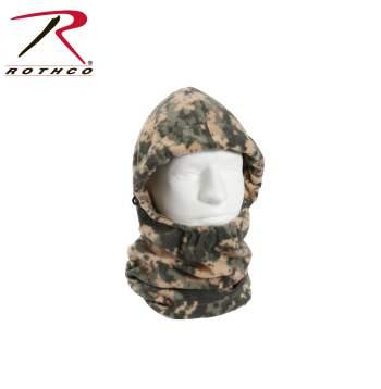 Rothco Polar Fleece Adjustable Balaclava - 5586 - Digital Camo