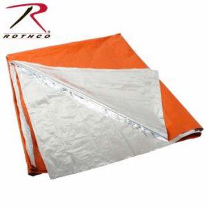 Rothco Polarshield Survival Blanket - 1043-A - Orange