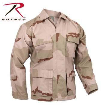 Rothco Rip-Stop BDU Shirt - Desert Camo - 9810-B