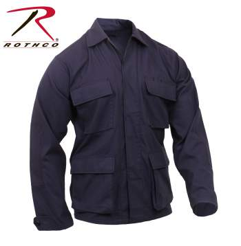 Rothco Rip-Stop BDU Shirt - Navy - 8803-A
