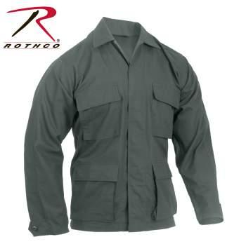 Rothco Rip-Stop BDU Shirt - Olive Drab - 5852-B1