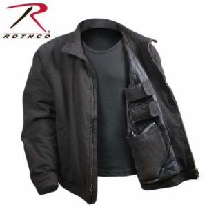 Rothco 3 Season Concealed Carry Jacket - 5385-Black-B