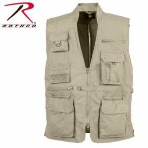 Rothco Plainclothes Concealed Carry Vest - Khaki - 8567-Khaki-A2