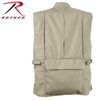 Rothco Plainclothes Concealed Carry Vest - Khaki - 8567-Khaki-D2