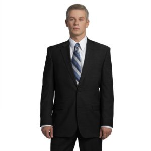Executive Apparel Men's OptiWeave Blazer - 4026 - Black