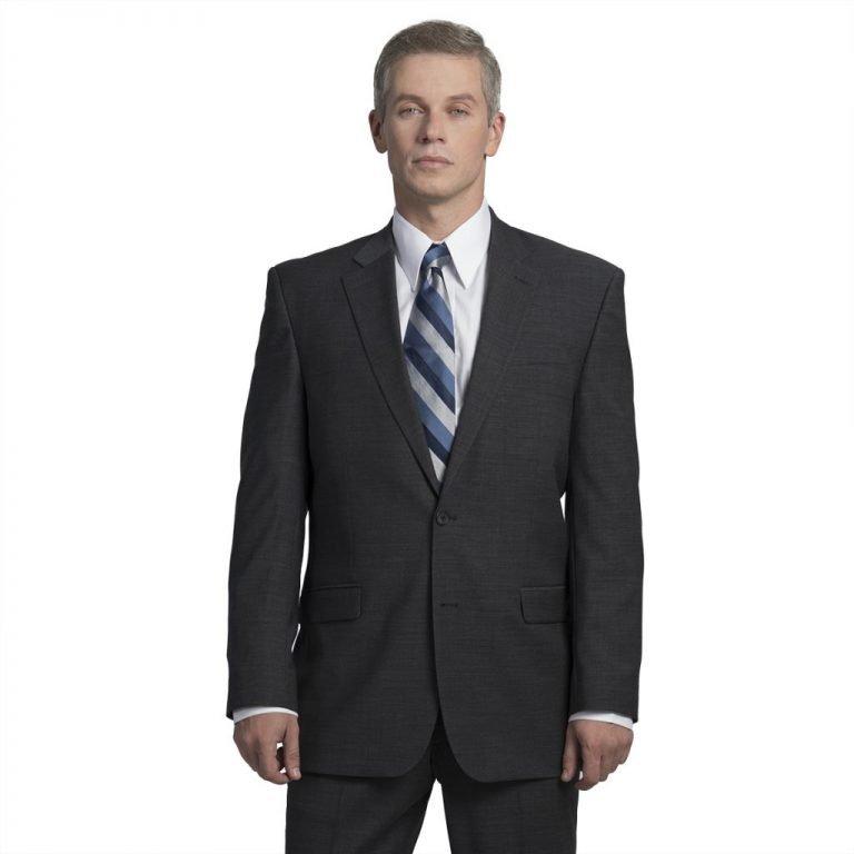 Executive Apparel Men's OptiWeave Blazer - 4026 - Charcoal