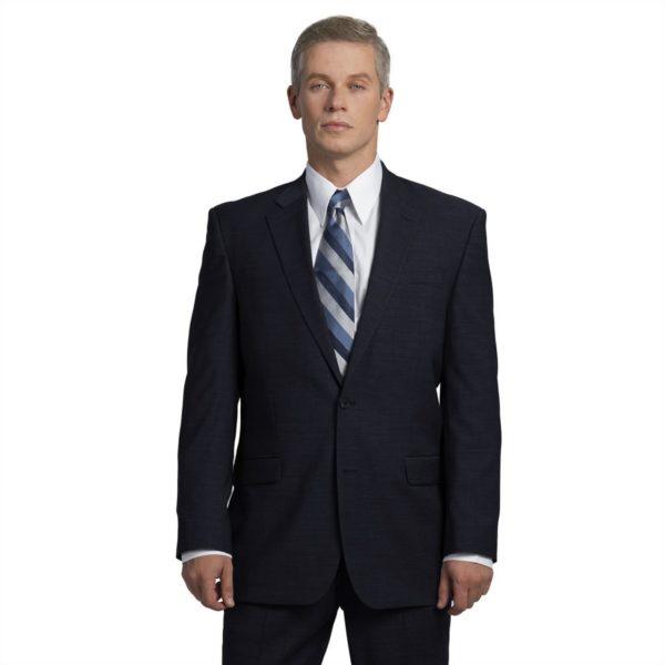 Executive Apparel Men's OptiWeave Blazer - 4026 - Navy