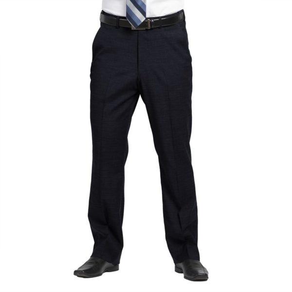 Executive Apparel Men's Optiweave Tailored Front Pants - 4226 - Navy