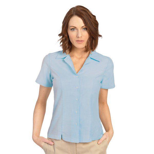 executive-apparel-womens-blouse-oxford-short-sleeve-2426-blue
