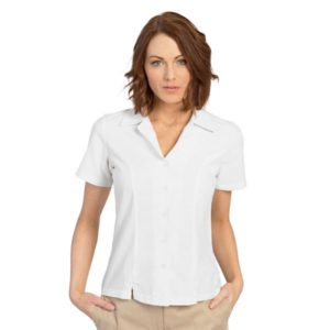 executive-apparel-womens-blouse-oxford-short-sleeve-2426-white-front
