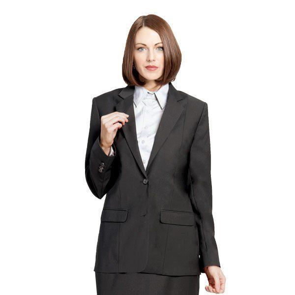 Executive Apparel Ladies Optiweave Blazer - 4103 - Black