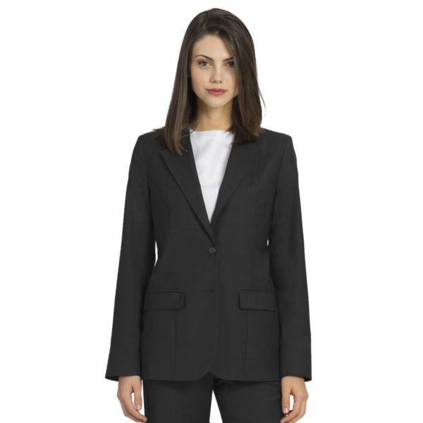 Executive Apparel Ladies Optiweave Blazer - 4103 - Charcoal