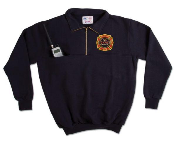 GAME Responder Turtleneck Work Shirt 8025-T Navy
