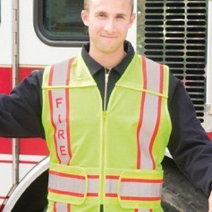 Game Sportswear I-101 FIRE 5-Point Breakaway Hi-Viz Safety Vest
