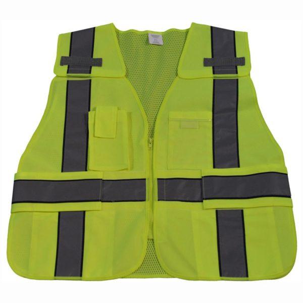 Petra Roc - Hi-Viz Safety Vest - LV2-BPSV-front