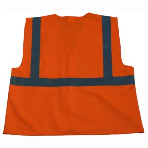 Petra Roc - ANSI ISEA Class 2 Economy Safety Vest - OV2-EC - Solid-Back