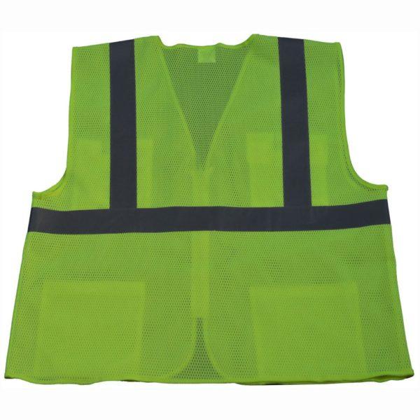 Petra Roc - Hi Visibility Safety Vest - LVM24-F1100-Lime-Back