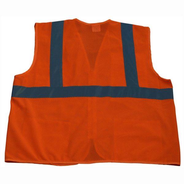 Petra Roc - Hi Visibility Safety Vest - OVM24-B1100-Orange-Back