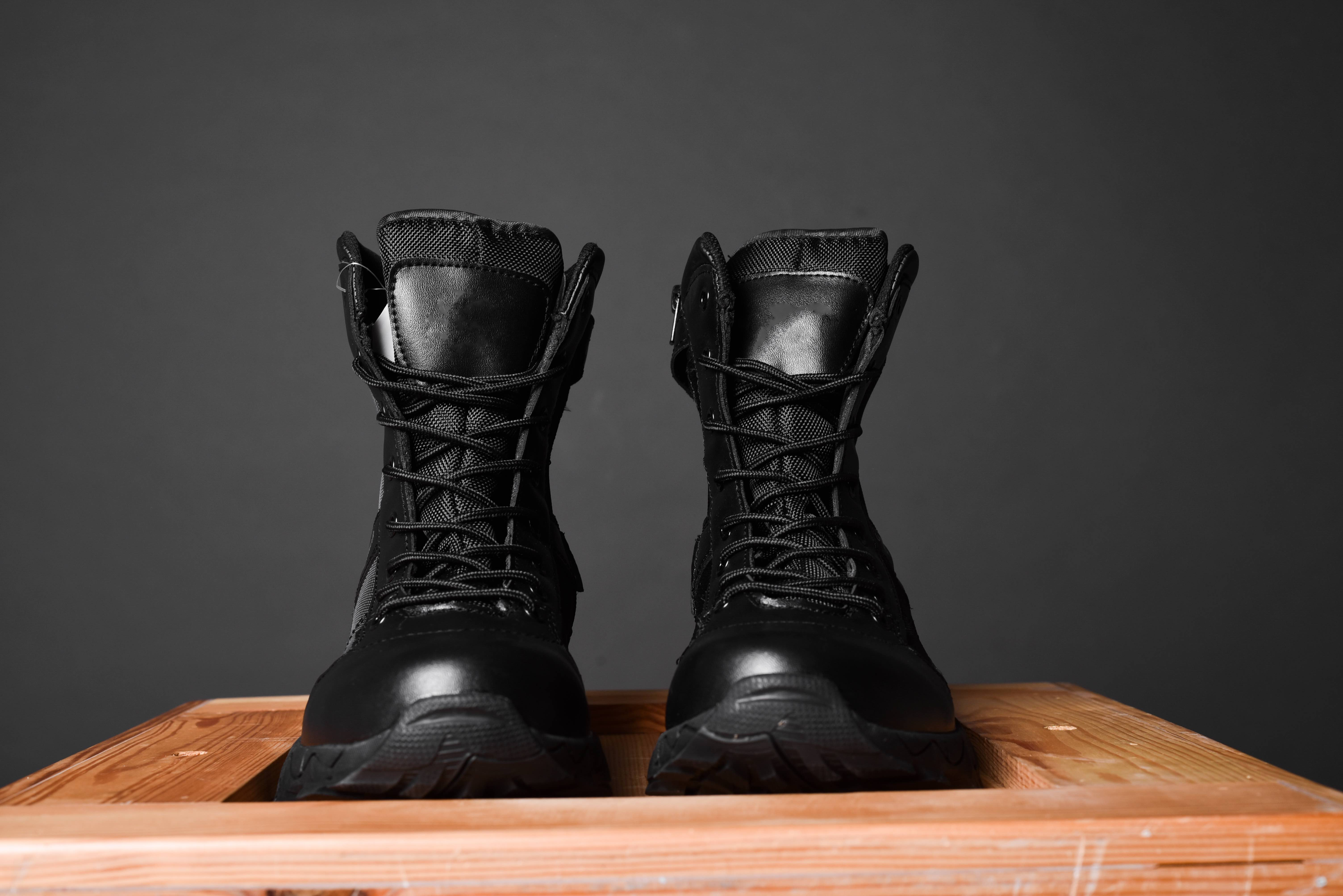 police duty boots